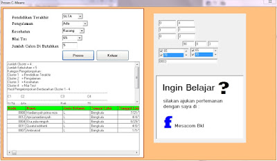 Source Code VB6 Penerapan Algoritma Fuzzy C-Means