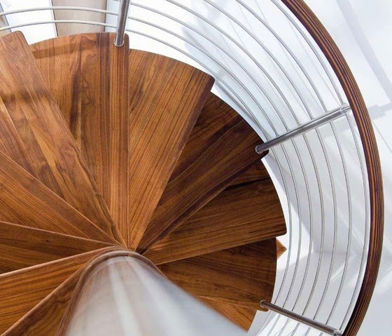 modern staircase design, beautiful spiral staircase
