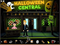 It's #HalloweenNight and this guy needs to get to the bottom of this mystery in this #PointAndClick adventure!