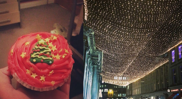 Christmas Cupcake Royal Exchange Sqaure