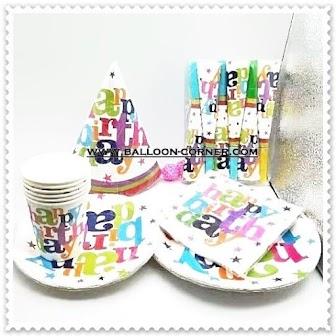 Paket HAPPY BIRTHDAY Party Set (MURAH)