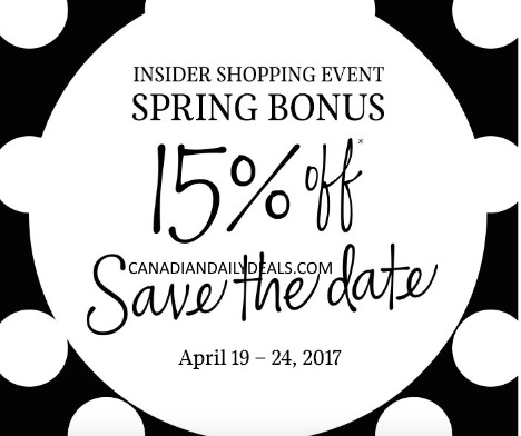 Sephora Spring Bonus Insider Shopping Event 15% Off VIBs Promo Code