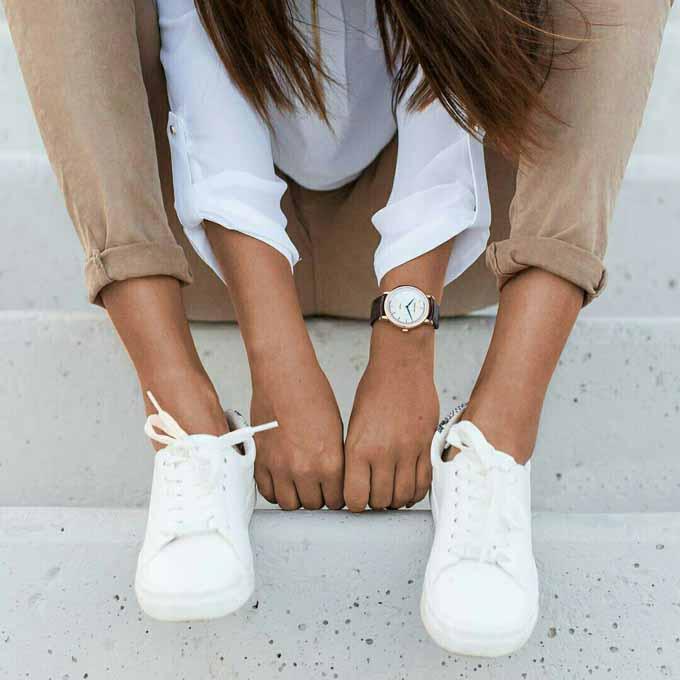 Delírios Cotidianos: Dicas de moda e beleza : Como usar tênis branco no look  de trabalho