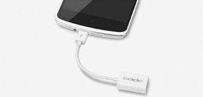 (Tutorial) Cara Mengaktifkan Fitur USB OTG Hp Oppo