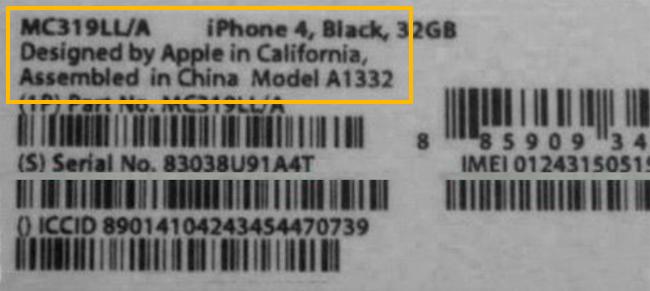 Cara Mengetahui Kode Negara Asal iPhone dibuat