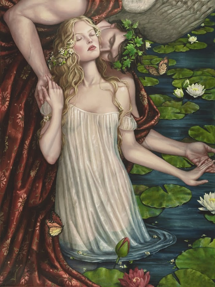 Figurative oil paintings of Lauri Blank #artpeople