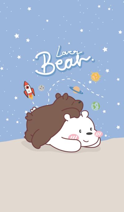 Bear Lover (Blue Galaxy ver.)