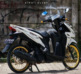 Modifikasi Vario 150 Velg Ring 17