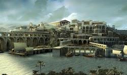 """""""...Εκεί λοιπόν (στην Αίγυπτο) όταν επήγαν ο Σόλων, καθώς είπεν ετιμήθη με εξαιρετικάς τιμάς από τους κατοίκους και ζητών πληροφορίας διά τη..."""
