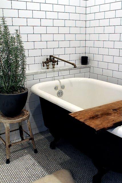 rustic bathroom tile - photo #35