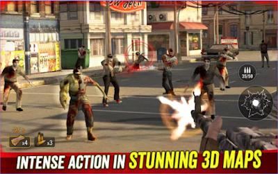 Zombie Hunter Apocalypse Mod Apk Terbaru