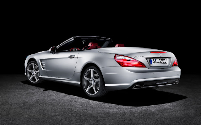 Mercedes-Benz SL back