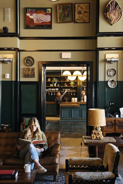 Saniertes Art Deco in New Orleans -Einrichten in Vintage, Wohnen in Flohmarkt Design