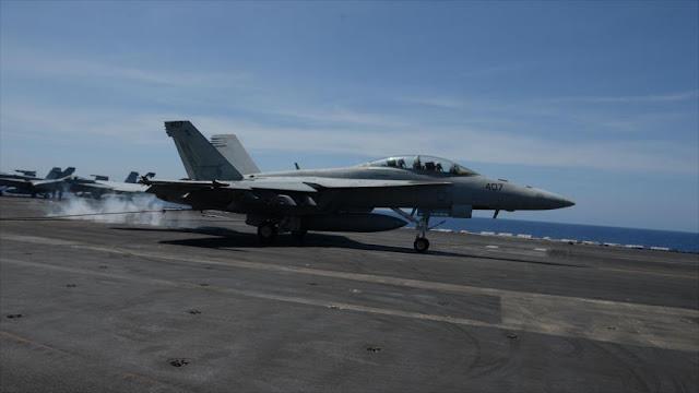 Maniobras de aviones de combate de EEUU alarman a China