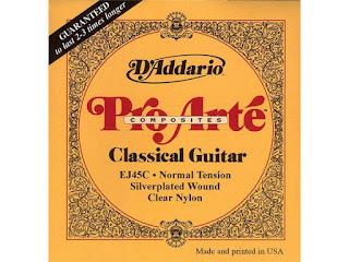 Dây đàn guitar classic D'addario ej45c