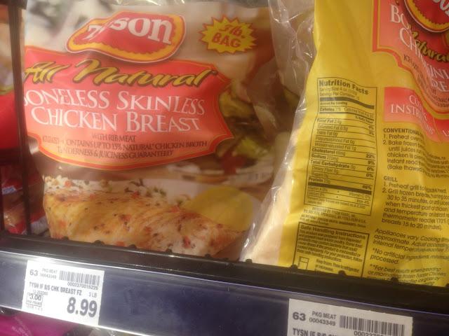 Chicken Breast, 3 lb, Tyson - Kroger