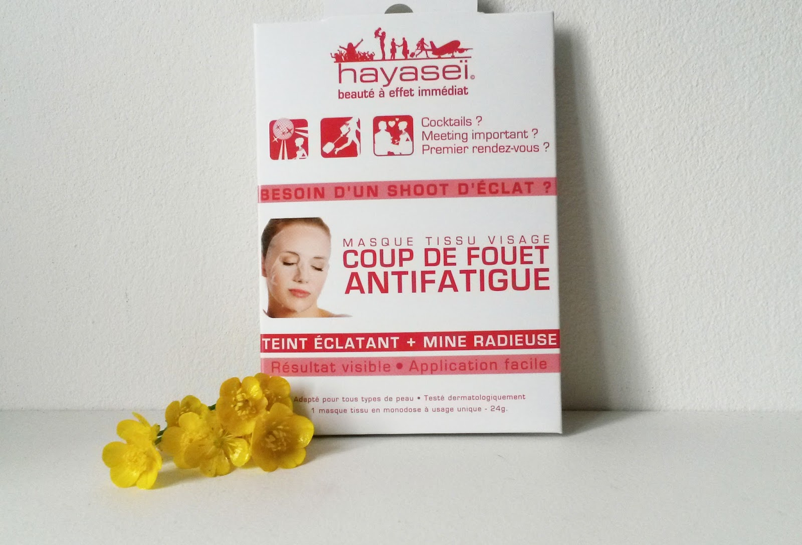masque anti fatigue visage