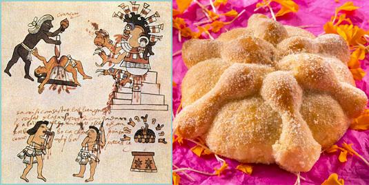tradicion prehispanica y origen del pan de muerto