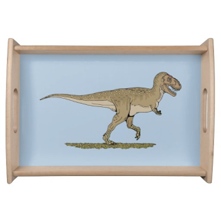 http://www.zazzle.com/t_rex_serving_tray-256806558924735194?