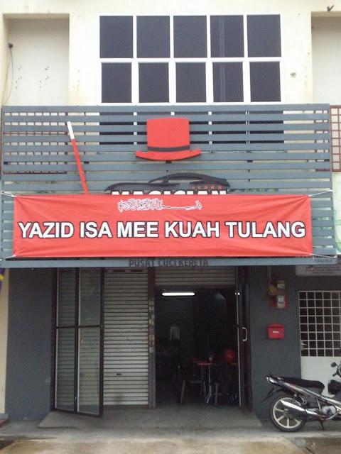 Yazid Isa Tawarkan Pelbagai Pilihan Mee Kuah