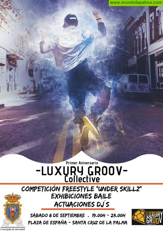 El Ayuntamiento de Santa Cruz de la Palma y el colectivo Luxury Groov organizan una jornada dedicada al rap y al 'freestyle'