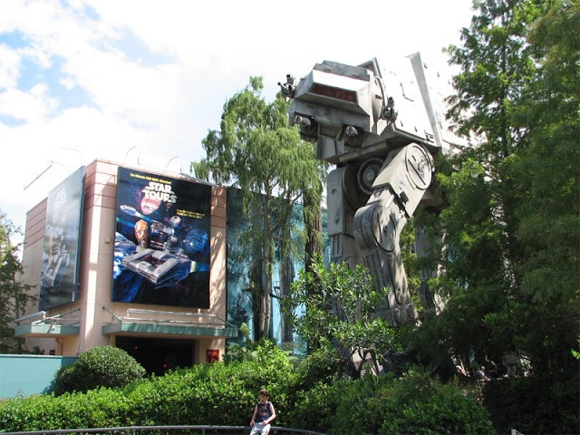 Star Tours en Parque Hollywood Studios en Disney