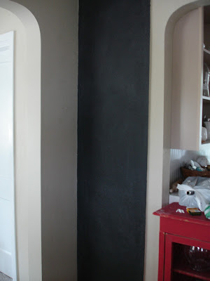 Chalkboard paint fail. Sharing this DIY experience to help save you time on a chalk paint project that did not work out!