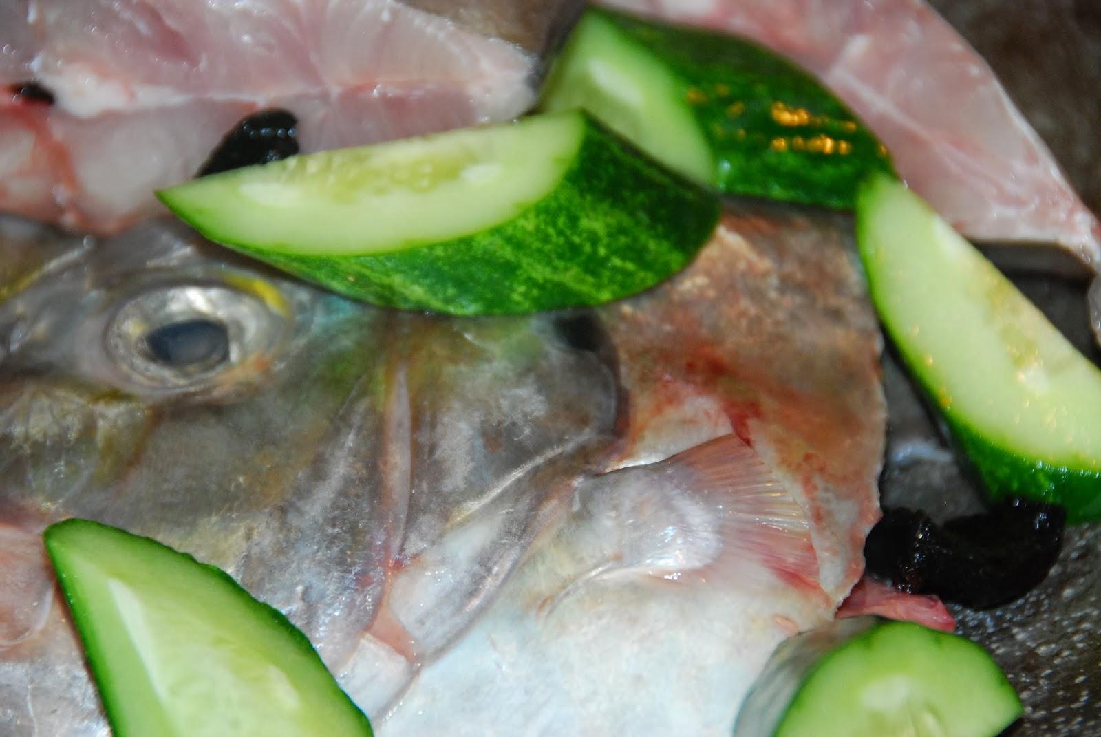 Laman Dapur Maya Ezujusoh: Cara-Cara Membuat Gulai Lemak Kuning Ikan Bawal Cermin