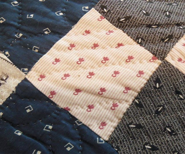 Barbara Brackman s MATERIAL CULTURE Clues in an Old Quilt