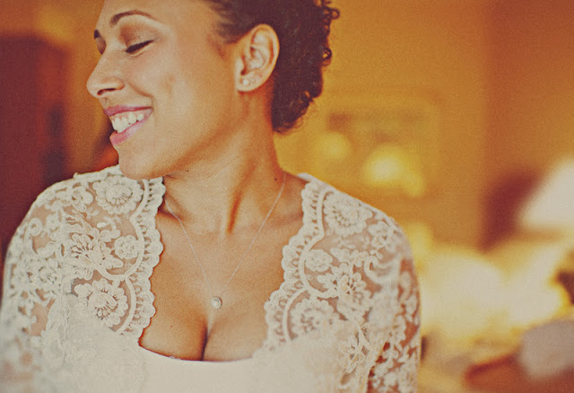 the bride's mother made her gown in this simple and lovely Chicago wedding   photo by the Dutchess and the Rabbit