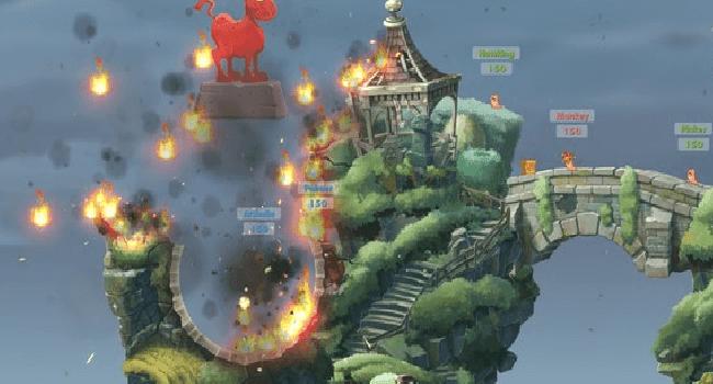 تحميل لعبة Worms W.M.D الجديده برابط مباشر للكمبيوتر