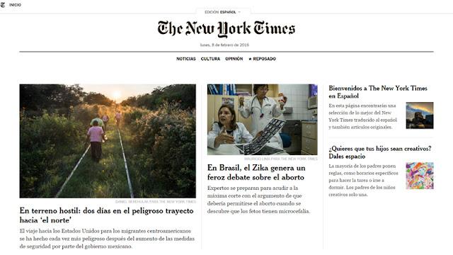 Nueva edición del NYT