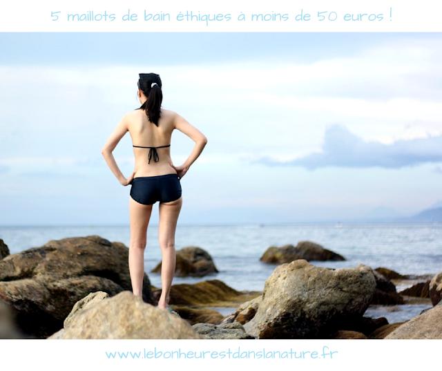 5 maillots de bain éthiques à moins de 50 euros !