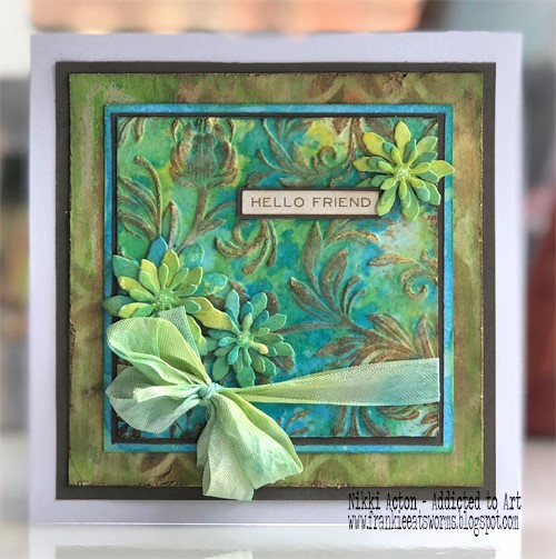 Tim Holtz 3D Texture Fades and Distress Oxides