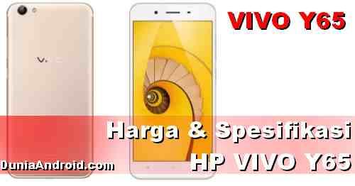 Spesifikasi dan Harga HP Vivo Y65