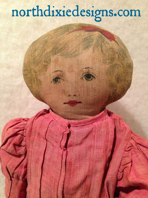 Art Mills Fabric Doll