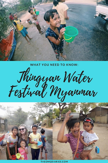 Thingyan Water festival Myanmar pinterest