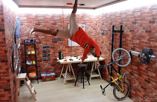 Terpelanting dari atas sepeda