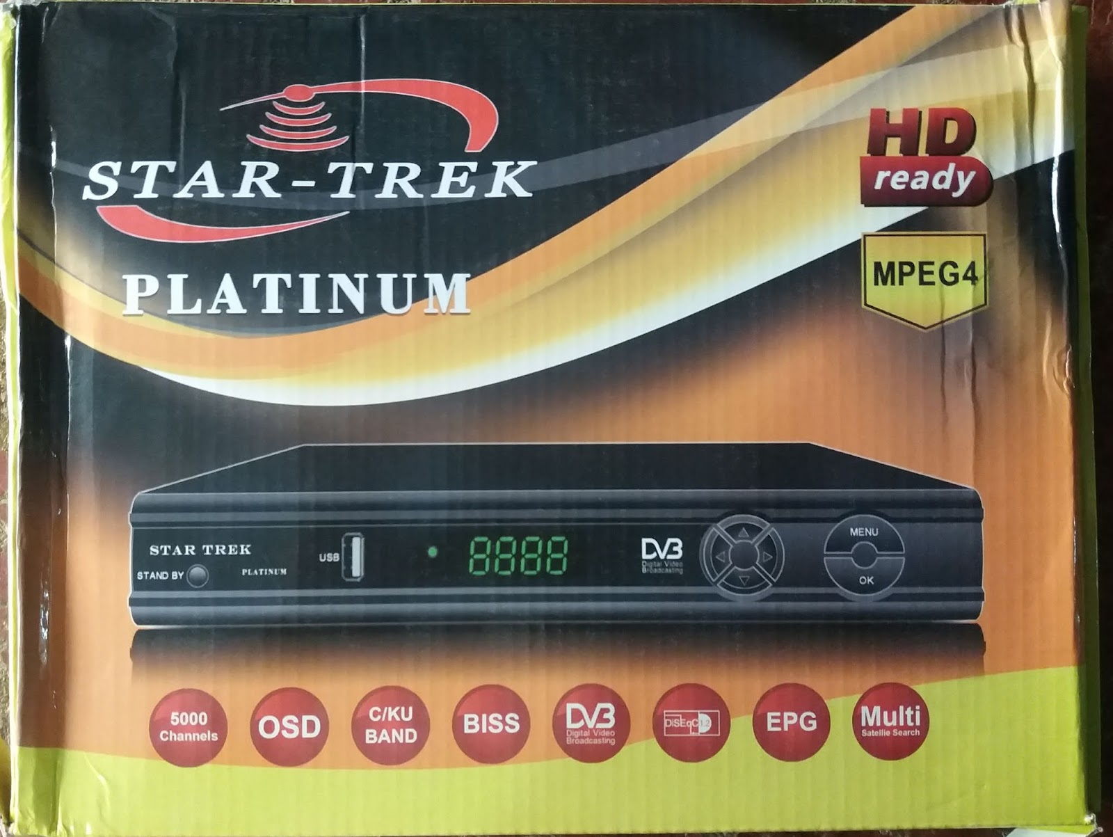 All Dish Receiver Software: STAR TREK PLATINUM HD RECEIVER