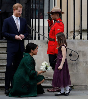Duchess of Sussex welcome at Canada House