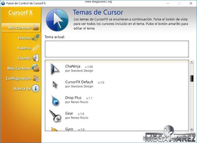 Stardock CursorFX Plus 2.16 imagenes