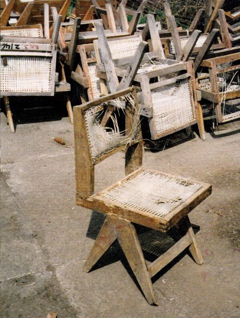 Saved From The Landfill Pierre Jeanneret Le Corbusier