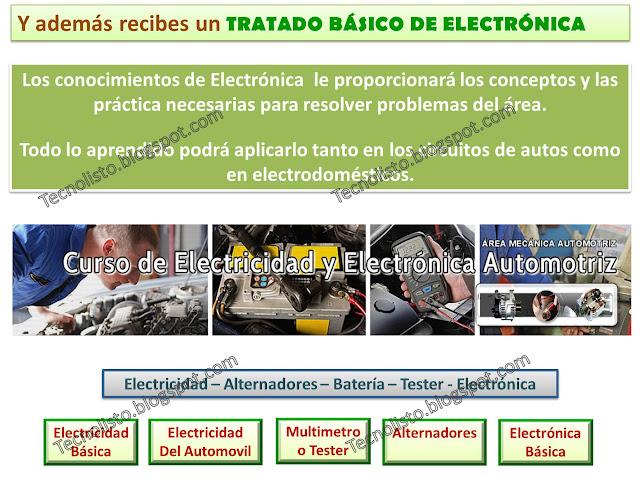 """""""Curso, Manual Electricidad y Electrónica Automotriz, Electroauto-2"""""""