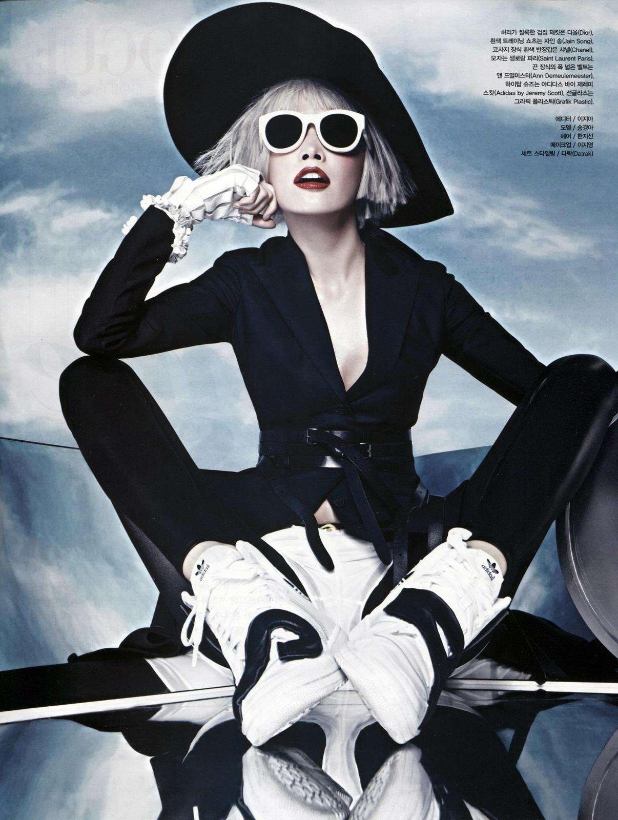 Kyung Ah Song by Jang Hyun Hong - Skyfall | fashionopher!!
