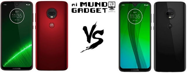Comparativa: Moto G7 Plus vs Moto G7