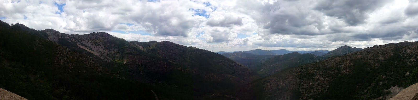 ruta en moto por la Batuecas Sierra de Francia