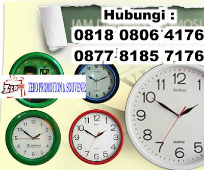 Jual Jam Dinding Custom untuk promosi