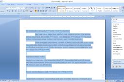 Cara Gampang dan Cepat Perbaiki Tulisan Hasil Copyan