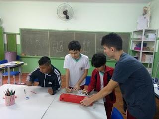 Feira Cultural apresenta projeto de robótica desenvolvido por alunos do ensino fundamental
