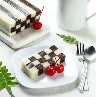 Resep Puding Domino